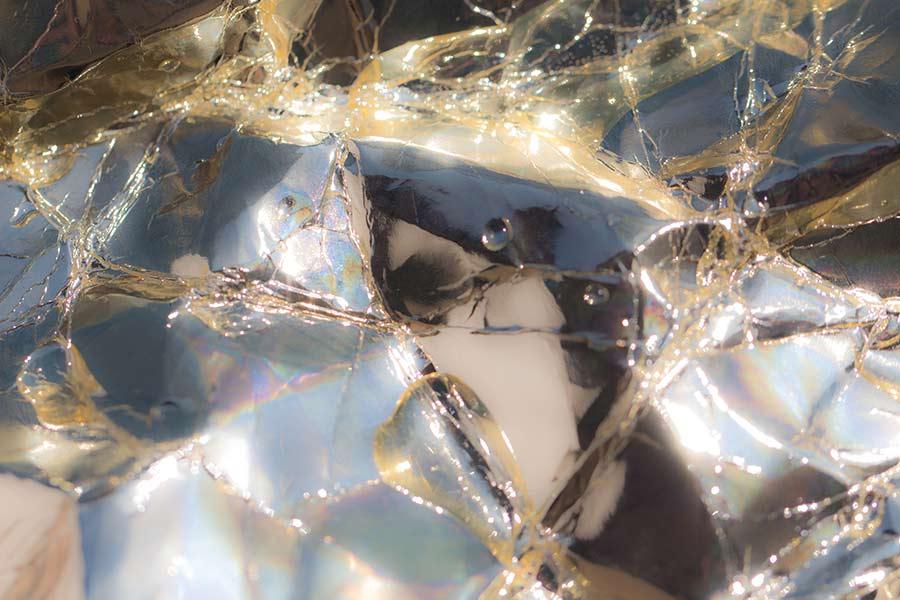 3-Reflektionen-170x110 cm - Fotoprint auf Aludipont