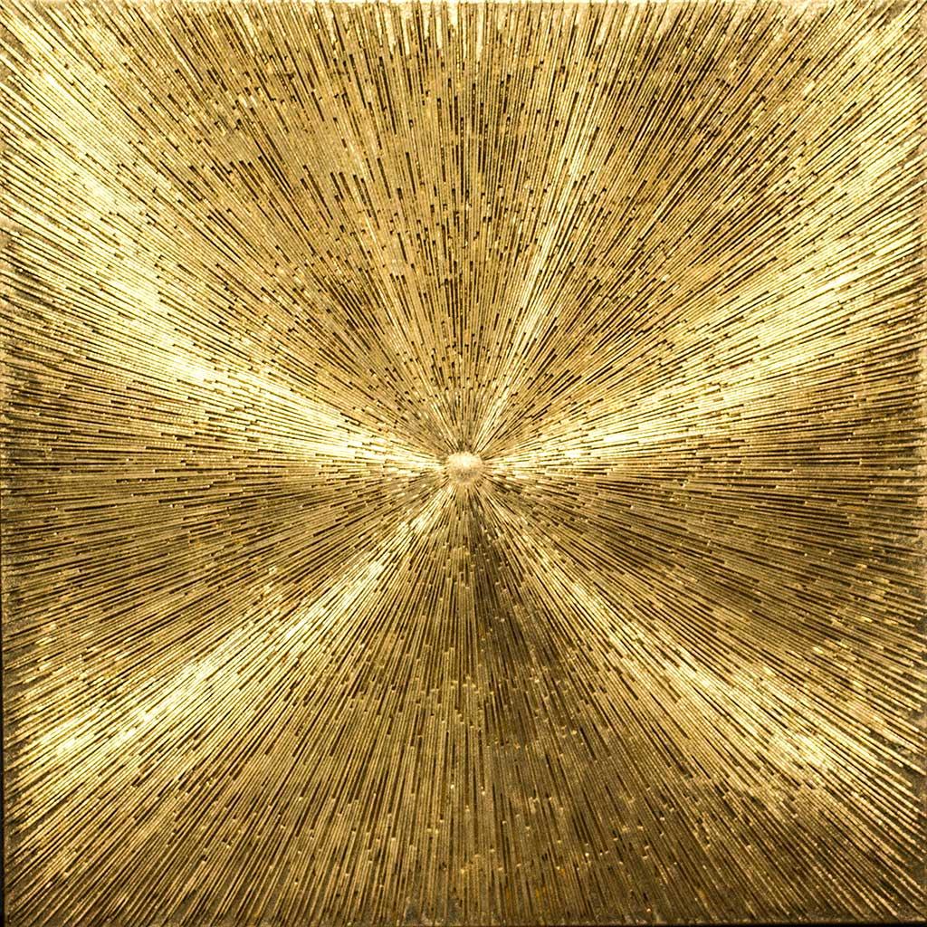 Licht - 100 x100 cm - 24-K. - P.B.